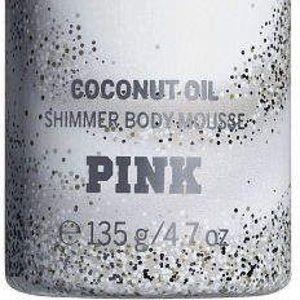 PINK Victoria's Secret Skincare - PINK 🥥 COCONUT OIL DISCO SHIMMER FOAM  (OBSESSED)